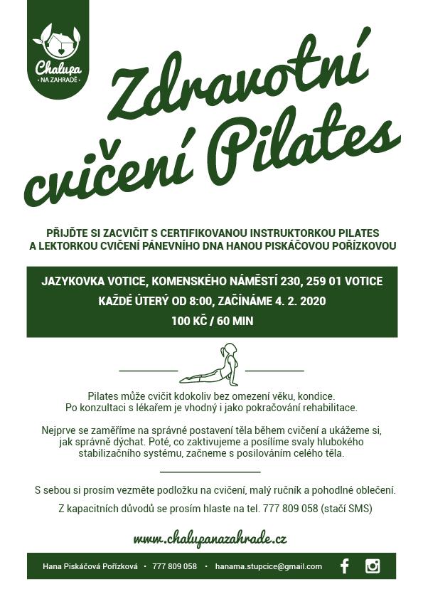 Pozvánka na pilates