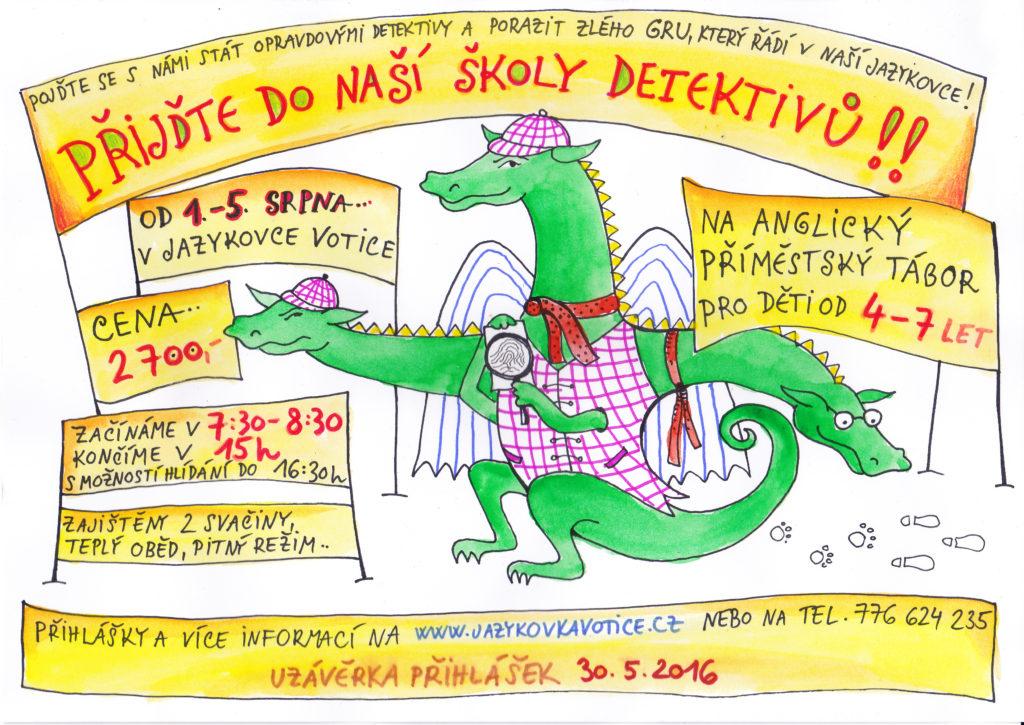 Škola detektivů (plakát)