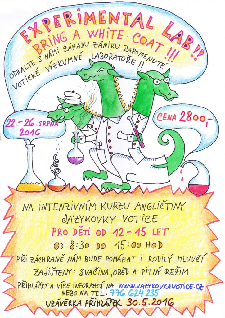 Experimental lab (plakát)
